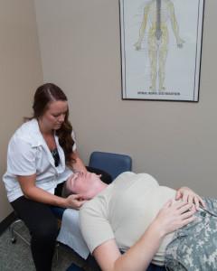 veteran massage therapy